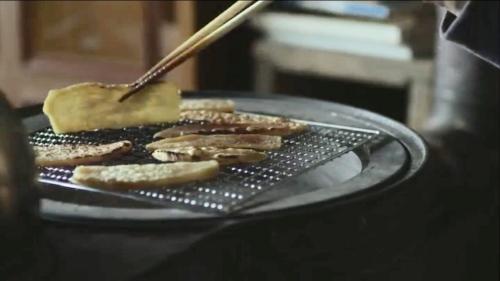 リトルフォレストの干しいもレシピ。炙ってたべる