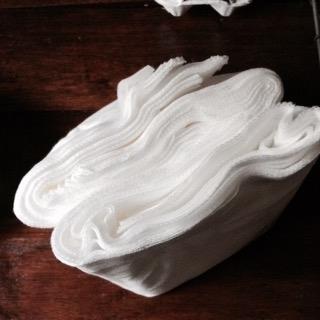 綿の使い捨て布巾