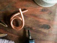 銅管の曲げ方[決定版]アルコールストーブ|パイトーチ型ストーブ