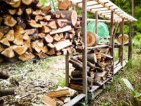 [薪ストーブ][DIY][2014~2015年]ひと冬に使った薪の量|建材置き