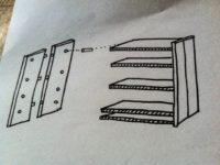 [DIY][ 2/2 ]食器棚は必需品だろうか?