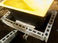[DIY][1/2]最安値!?自作の薪風呂(直火タイプ)|煙道を活かした薪風呂釜の作り方|五右衛門風呂
