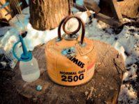 失敗から始まったパイトーチ型アルコールストーブ作り 銅管を使ったアルコールストーブ