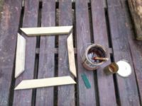 [DIY]古材を使った木製ミラーフレームを自作する|下手くそ注意!確かなDIY技術が求められる作業