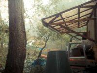 洗って壊して燃やして大掃除|頬杖を使った建材置き場と薪棚[DIY]細々としたこと(2)