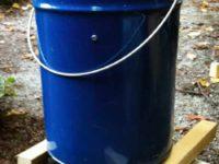 [DIY]ペール缶を使った自作の燻製器[温燻]