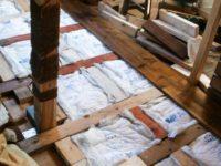 [セルフビルドの小屋][DIY]合い決り(あいじゃくり)加工で床を張る|タイニーハウスの作り方