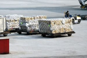 国際便貨物