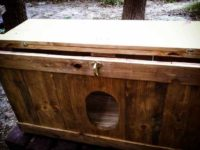 [DIY][廃材利用]自作のネコトイレを作る[2/2]