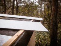 [セルフビルドの小屋][入植11日目] - あれ?屋根材が足りないぞ!|タイニーハウスの作り方
