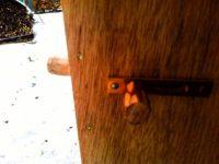 [セルフビルドの小屋][入植13日目] - 玄関ドアとお勝手口をそれぞれ違った手法で作る|タイニーハウスの作り方