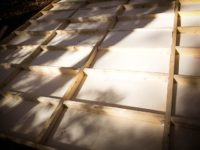 [セルフビルドの小屋暮らし][入植6日目] - 土台二段目→床貼りまで -|タイニーハウスの作り方