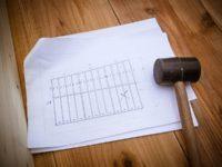 [セルフビルドの小屋][入植7日目] - 床の凸凹が気になる&一段目の壁枠作成 -|タイニーハウスの作り方