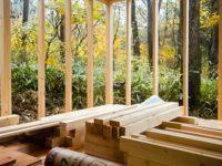 [セルフビルドの小屋暮らし][入植9日目] - 一段目の外壁と防水シート貼り -|タイニーハウスの作り方