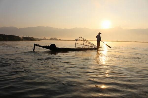 ミャンマーの釣り