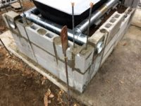 [セルフビルド]風呂&トイレ小屋を自作しよう!⑨|薪風呂編ⅴ|煙道の掃除口とパーライトを使った腰掛け