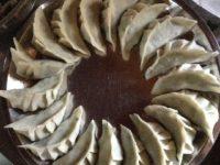 ある日の小屋暮らし日記#3|シンプルベジ餃子を皮から作った話ほか