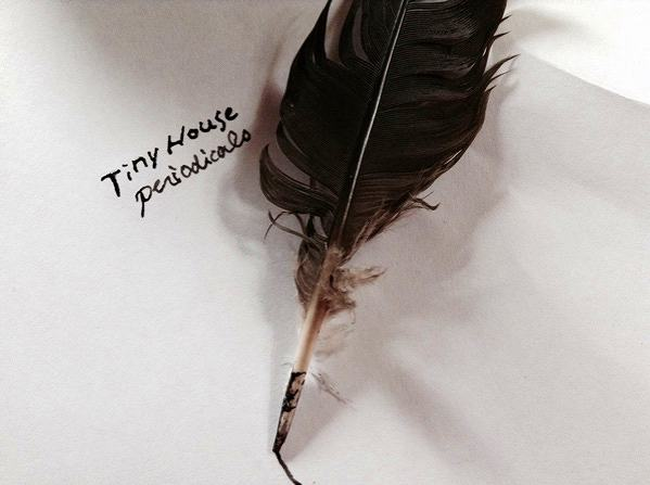 ハトの羽根ペン