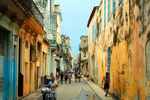 キューバの街角
