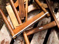 [DIY][カリモク]打ち捨てられた椅子は珠玉の逸品