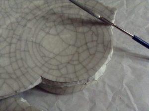 割れた土鍋を修理する
