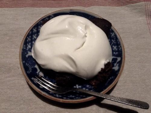 低糖質のココアおからケーキ