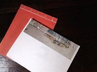 和綴じのメモ帳