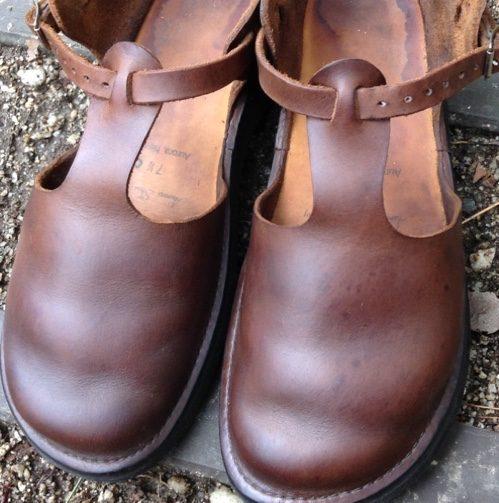 革靴の丸洗い完成