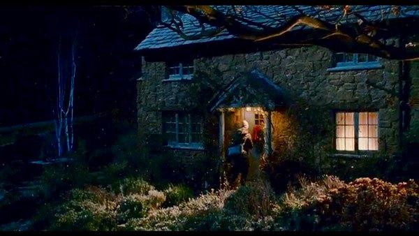 映画の中の小屋 The Holiday